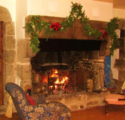 Christmas Kitchen - 16th century - Les Trauchandieres